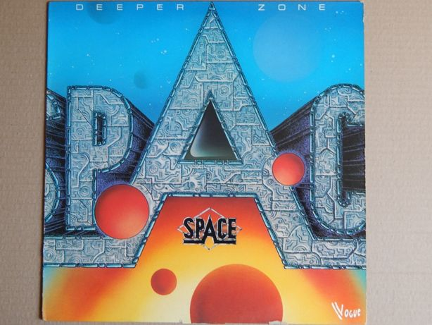 Space – Deeper Zone (Vogue – 508616, France) NM-/NM-