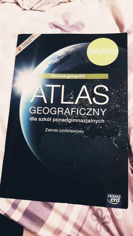 Atlas geograficzny Oblicza geografii dla szkół ponadgimnazjalnych