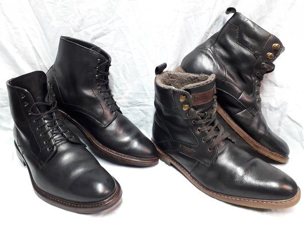 Ботинки кожа оригинал, Dainite 44 размер.