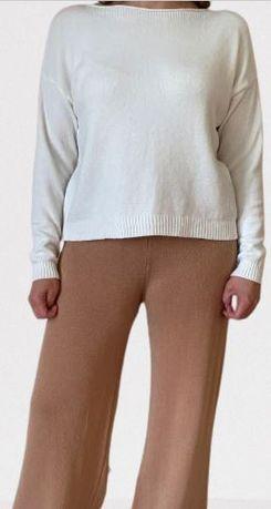 Conjunto de malha calças e camisola - Tam unico - Portes incluidos