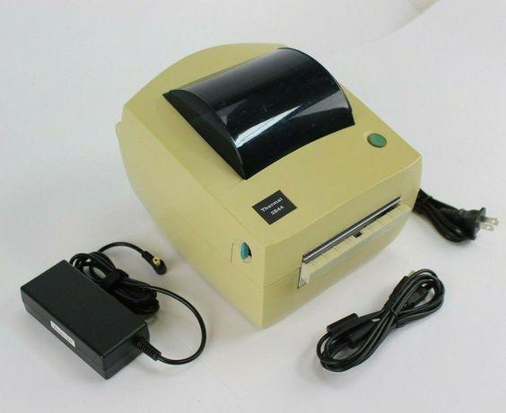 Термо принтер этикеток штрихкода Zebra LP2844. Отправка Новой Почтой.