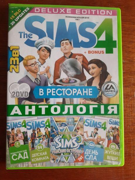 Диск The Sims 4 антология