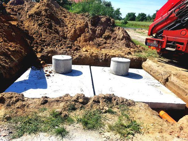 Zbiornik szambo betonowe szamba produkcja montaż dojazd 4-12m3 szybko