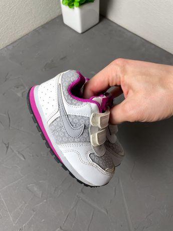 Детские кроссовки nike original 22 размер на липучках 12см удобные