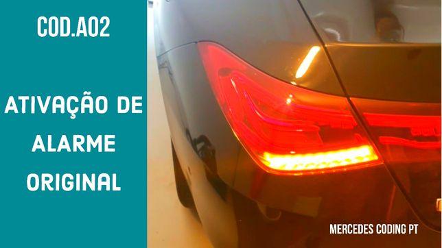 Mercedes codificação - Ativação de alarme