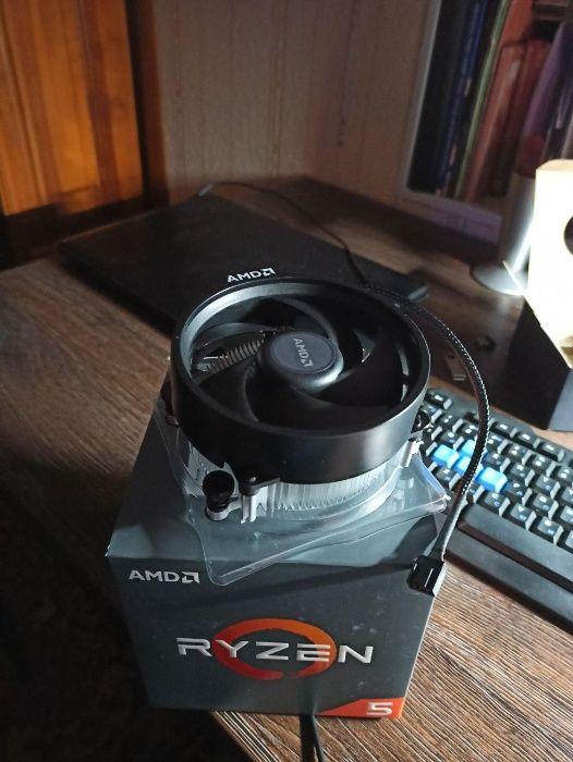 Продам КУЛЛЕР для процессора AMD Ryzen 5 1600 на СОКЕТ Am 4 Беляевка - изображение 1