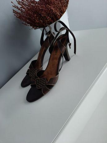 Buty skórzane rozmiar 41