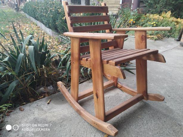 Кресло качалка из сосны для ребенка