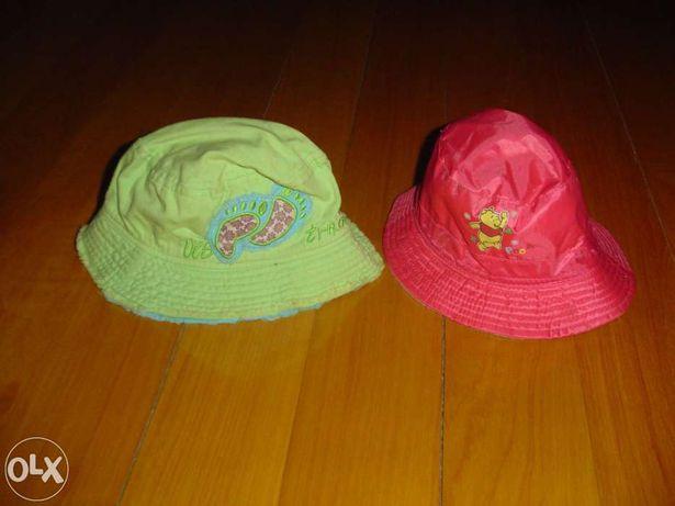 2 Chapéus Menina 1 Ano