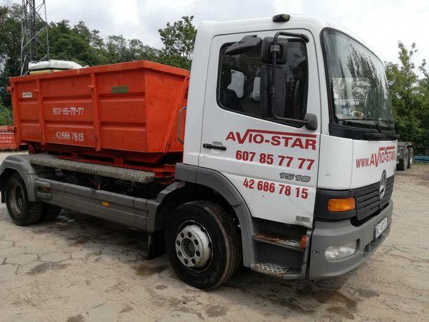 Wywóz odpadów po budowlanych, gruzu, śmieci, kontenery 4,7,17,36 m3