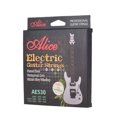 ALICE AE530 Ekskluzywne struny do git elektrycznej