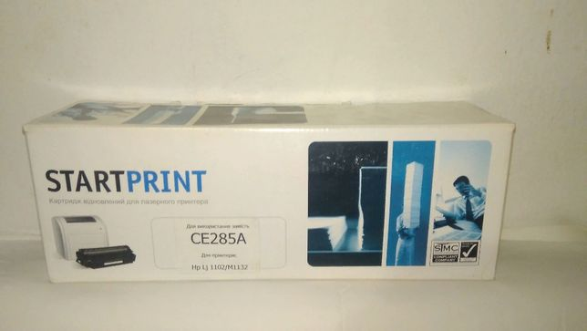 Картридж лазерный CE285A (HP 85А)