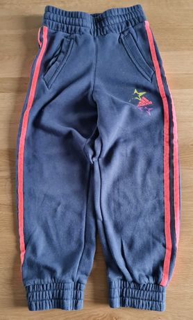 Spodnie dresowe dresy adidas 6 - 7 lat 122 cm
