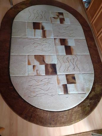 Duży dywan w brązach