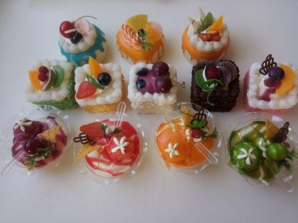 Муляж, декор десертов