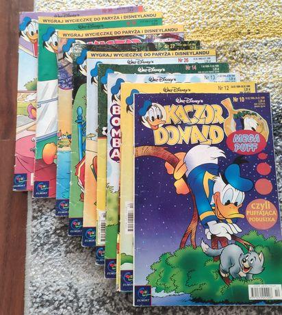 Czasopisma Kaczor Donald - różne numery 98-2002
