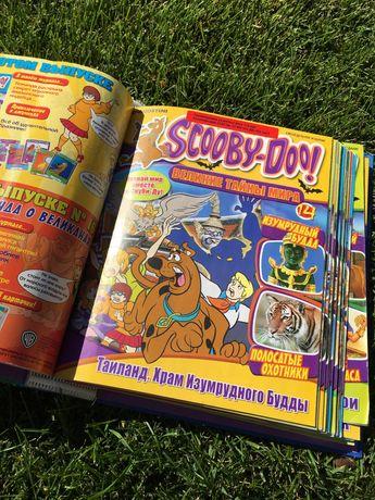 Коллекция журналов scooby-doo