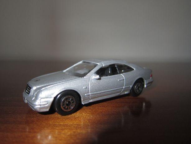 Carrinho de brincar cinzento - Mercedes-Benz CLk