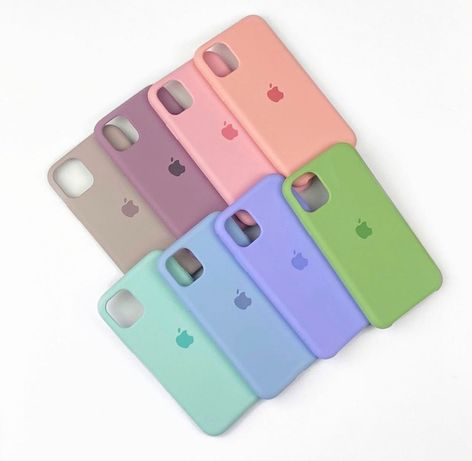 Силиконовый чехол на IPhone 8 11 12 XR MAX PLUS 7 Xs mini SE 6 айфон