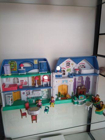 """Игровой набор дом с семьей и мебелью """"My happy family"""" oтKeenway."""