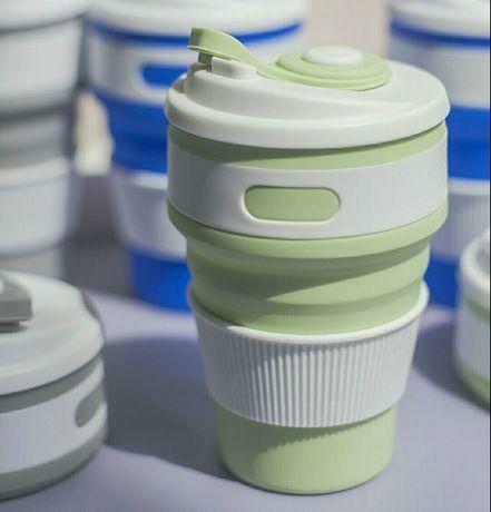 Складна силіконова чашка 350 ml