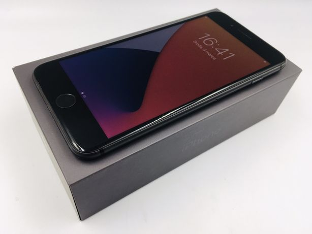 iPhone 8 PLUS 256GB SPACE GRAY •NOWA bateria• GW 1 MSC • AppleCentrum