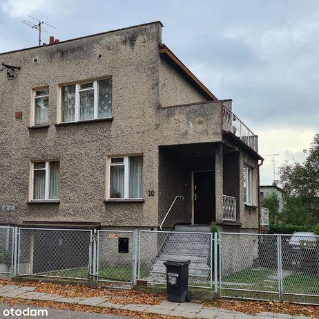 Zamieszkany dom bliźniak do remontu Gliwice Łabędy