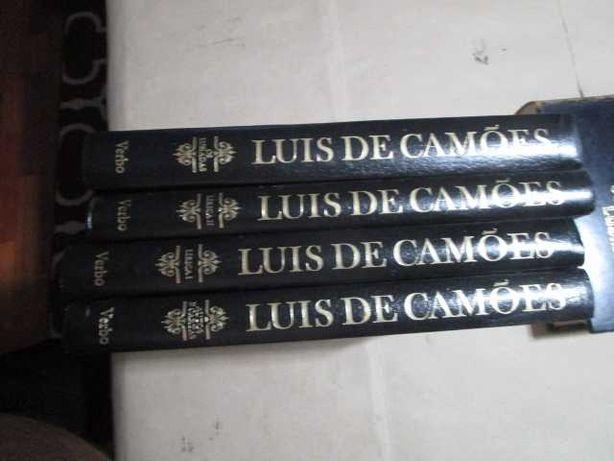 11127   Obras Completas de Luis de Camões- 4 Vols Editorial Verbo