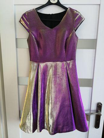 Przepiękna połyskująca suknia! Mega oryginalna!