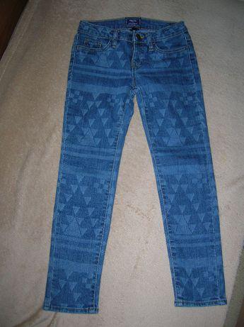 spodnie dżinsowe dla dziewczynki rozm.116/122