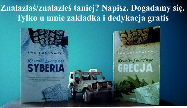 """Ewa Sosnowska """"Kroniki Lenny'ego"""" Syberia i Grecja plus gratis"""