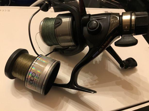 Катушка рыболовная Shimano GTM 4000 Super X + шпулька б/у