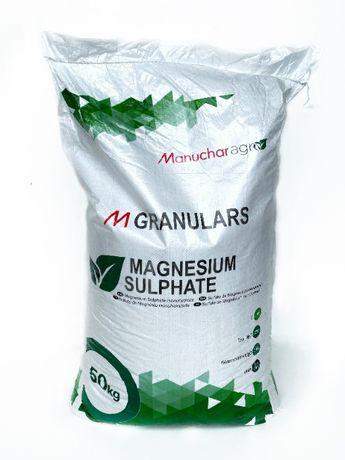Удобрение Сульфат магния ManucharAgro 50кг Total MgO-27% S-18