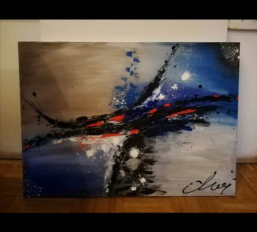 Obraz abstrakcja 60x70