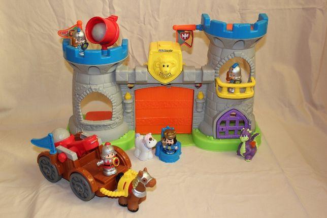 Средневековый Замок и Катапульта Fisher Price Little people