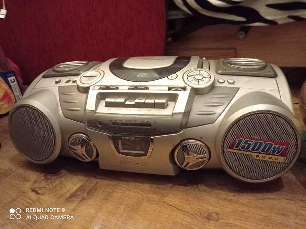 Radioodtwarzacz CD,kasety