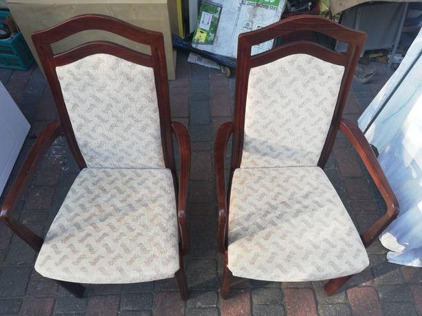 2 krzesła-fotele stylowe