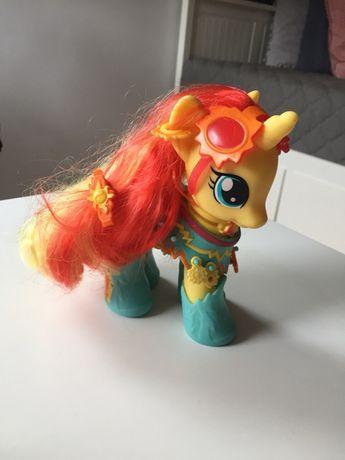My Little Pony konik z akcesoriami duży bdb