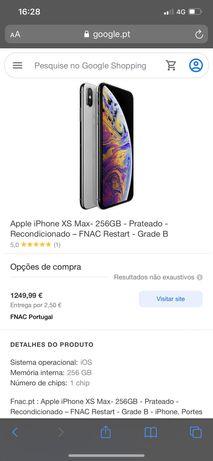 Vendo iPhone XS Max 256 gb