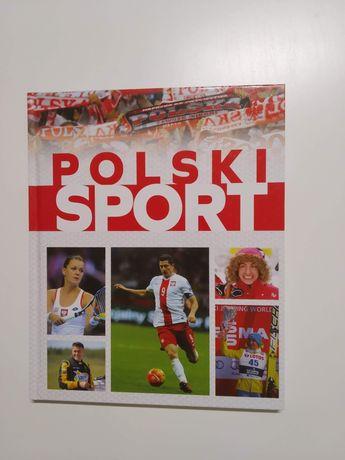Książka album w twardej oprawie Polski Sport