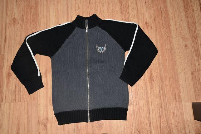 H&M rozsuwany sweter dla chłopca roz 140 /146