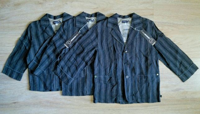 Льняной пиджак на мальчика Jean Bourget (Made in France)