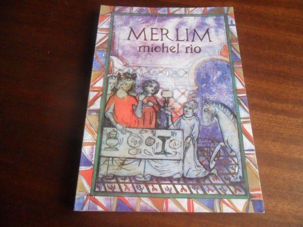 """""""Merlim"""" de Michel Rio - 1ª Edição de 1990"""