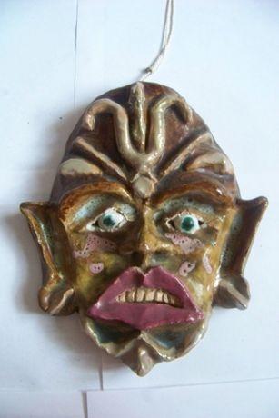 Маска/страшная маска Эксклюзивный подарки Ручная работа винтаж