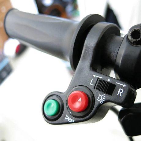 Comutador de luz (on-off), piscas e buzina para mota ou motorizada
