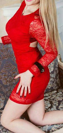 Платья платье леопард черное красное белое