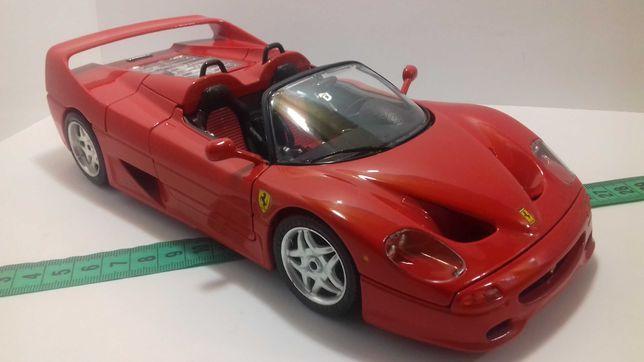 Модель машины Ferrari F50 (1995) 1:18 Burago Made in Italy Феррари