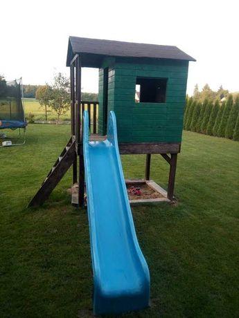 Domek drewniany dla dzieci - do częściowego remontu