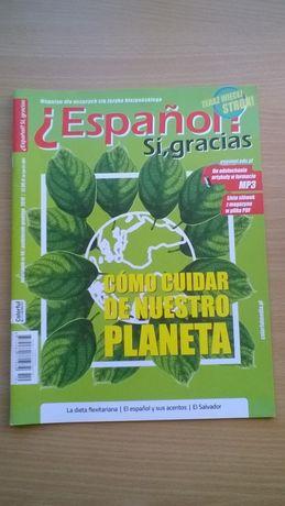 Hiszpański Espanol si gracias czasopismo do nauki języka hiszpańskiego