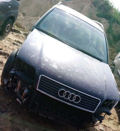 Audi A6C5 Avant 2.5 TDI V6 114KW, części, kod lakieru LY5K, drzwi